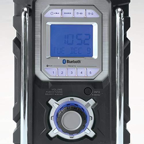Makita XRM04B-R 18V LXT Cordless Lithium-Ion Bluetooth FM/AM Job Site Radio (Bare Tool) (Renewed) by Makita (Image #4)