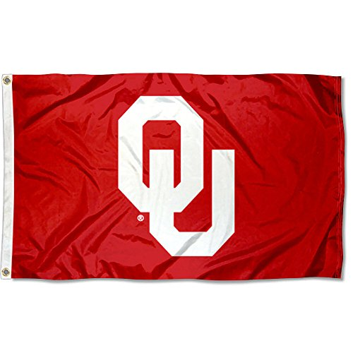 OU Oklahoma Sooners University Large College Flag ()