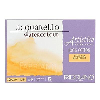 """Artistico Watercolor Block 5""""x7"""" 300gsm Cold Press 25 Sh"""