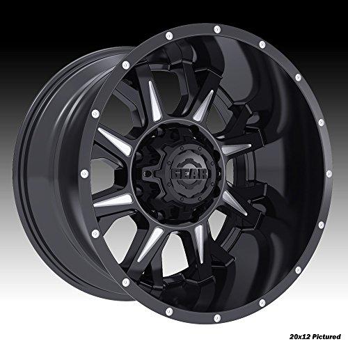 Gear Alloy 742BM Kickstand 20X9 Gloss Black with CNC Milled Accents Wheels 6X135 / 6X5.50 Bolt Pattern - Kickstand Black Gloss
