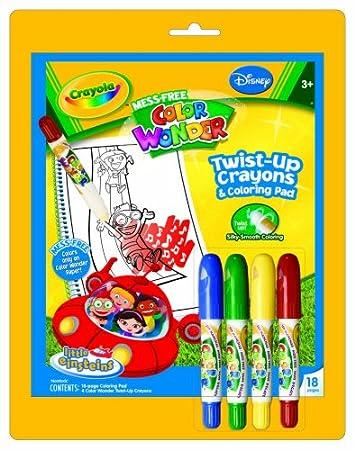 crayola coloring book and twist up crayons little einsteins - Crayola Coloring Book