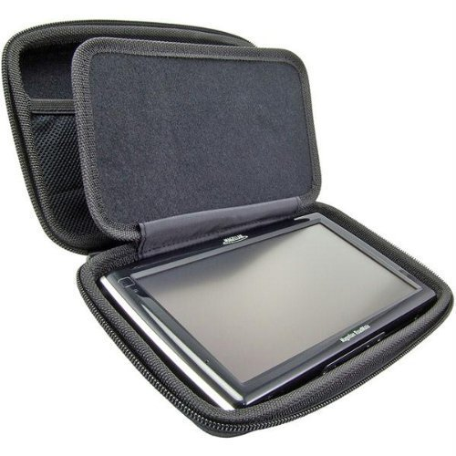 arkon gps hard shell case for 5 inch 6 inch 7 inch gps garmin nuvi dezl