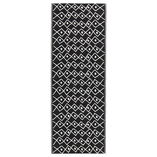 ikea-indoor-outdoor-porch-deck-rug-rv-camper-runner-mat-summer-black-white