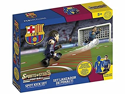 Amazon.com: FC Barcelona, Spot Kick set, building bricks by ...