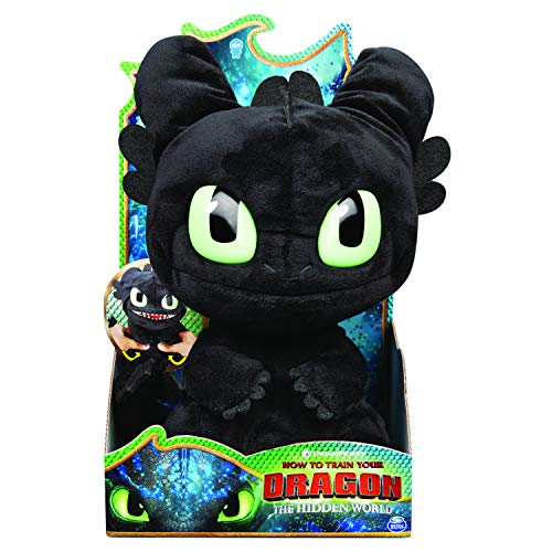 Dreamworks Dragons Squeeze & Roar Toothless Plush Now $10.09 (Was $21.15)