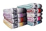 Threads West Premium Mexican Falsa Beach Blanket, Serape Stripe Beach Blanket (Random)