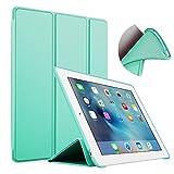 S-Tech iPad Mini 4 Case, Lightweight Ultra Slim Soft Silicone Smart Cover Trifold