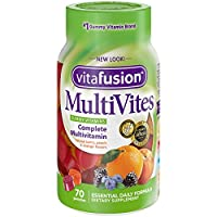 Vitafusion MultiVite Gummy Vitamins, 70 Count (Packaging May Vary)