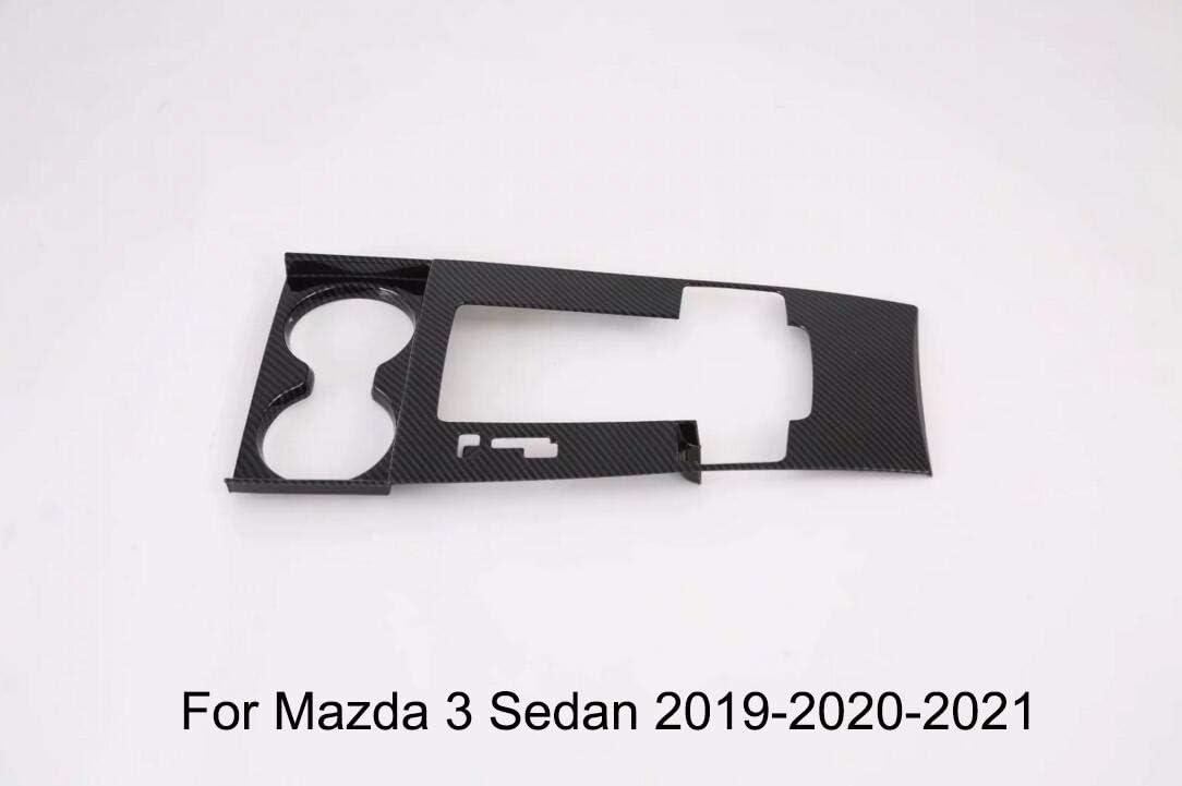 Momoap 8Pcs Carbon Fiber Style Interior Car Body Door Side Molding Trim Cover Guard for Kia Seltos 2020-2021