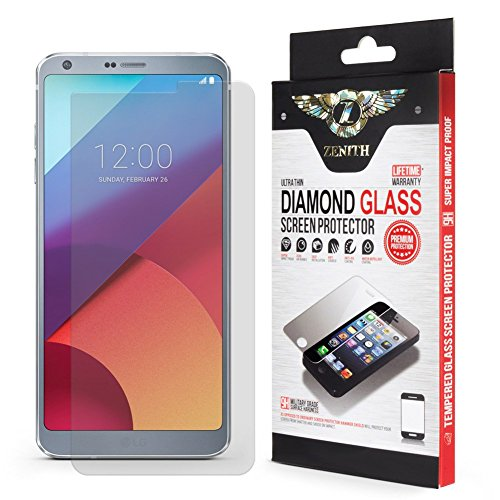 LG G6 / LG G6 Plus Screen Protector, Qoosan [Scratch Proof] Tempered Glass Only for LG G6 / G6+ [Oleophobic] - Ultra Clear