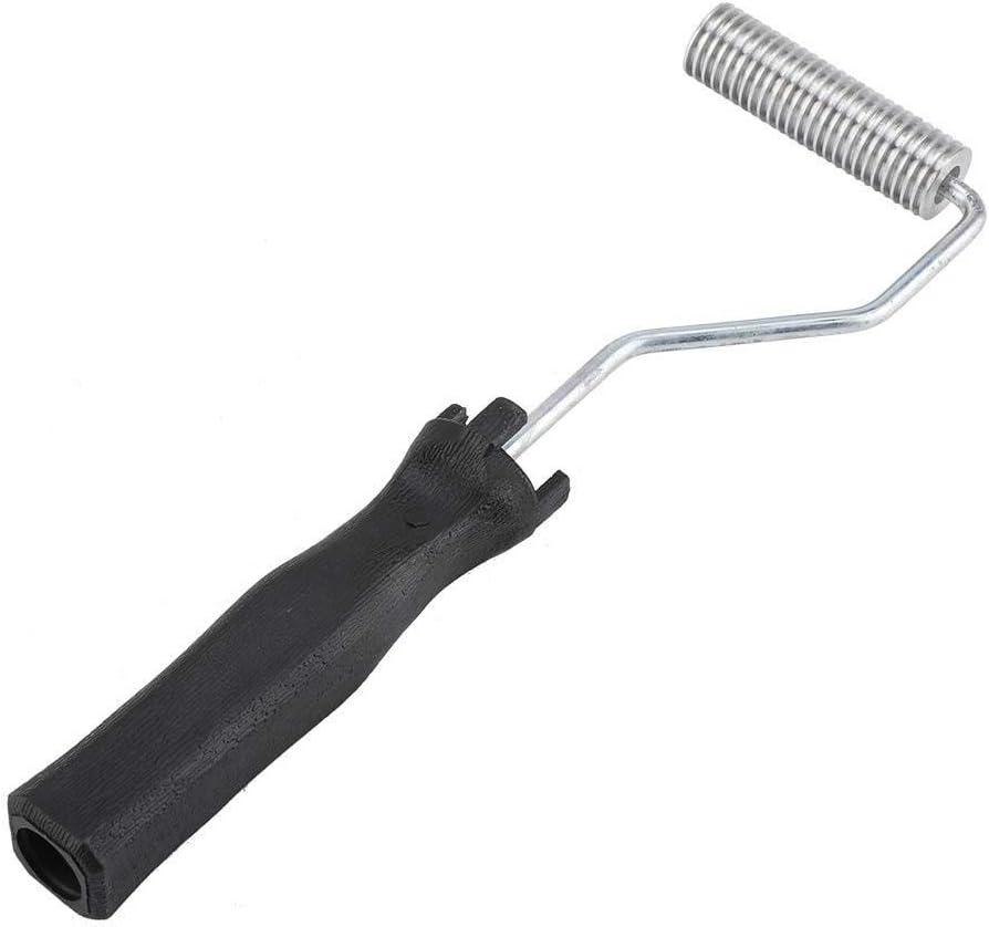 Juego de rodillo de fibra de vidrio para pala, herramienta de 1 pieza de rodillo de fibra de vidrio laminado de burbujas Kit para reparación de bañera o barco de resina compuesta