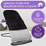 Ergonomic Baby Bouncer Seat - Bonus Travel Carry