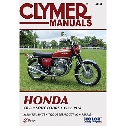Clymer Honda In-Line Fours CB750 SOHC Manual M341