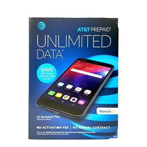 At&t Prepaid LG Xpression Plus Prepaid Smartphone