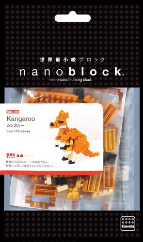 MINI SERIES 110 Pieces NEW KANGAROO NANOBLOCK NBC.092