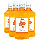 Mountain Falls Tartar Control Plus Antiseptic Mouthwash, Citrus, Compare to Listerine, 50.7 Fluid Ounce (Pack of 4)