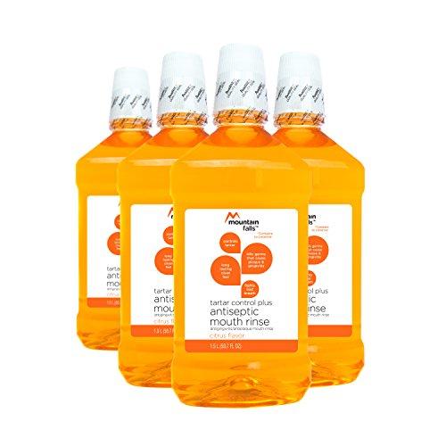 Mountain Falls Tartar Control Plus Antiseptic Mouthwash, Citrus, Compare to Listerine, 50.7 Fluid Ounce (Pack of (Sensitive Teeth Tartar Control)