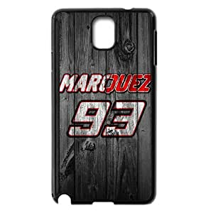 Marc Marquez 93 For Samsung Galaxy Note 3 Black Custom Cell Phone Case Cover 99II931184