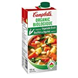 Campbell's Organic Vegetarian Vegetable Broth, 900 ml