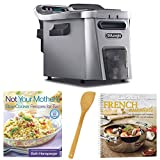 DeLonghi D44528DZ Livenza Easy Clean Deep Fryer + 2 Cookbooks and...