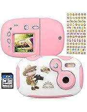 """AGM MP3 Kinderkamera ,Digitalkamera Videokamera mit 1.77"""" LCD Display Design,Eingebauter Speicher von 4GB, ,Geburtstag Festival Geschenk für Kinder Jungen Mädchen"""