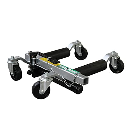 Provence Outillage-Gato hidráulico de carretilla plataforma posizionatore coche desplace hidráulico coche