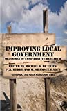 img - for Improving Local Government: Outcomes of Comparative Public Administration Research (Governance and Public Management) book / textbook / text book