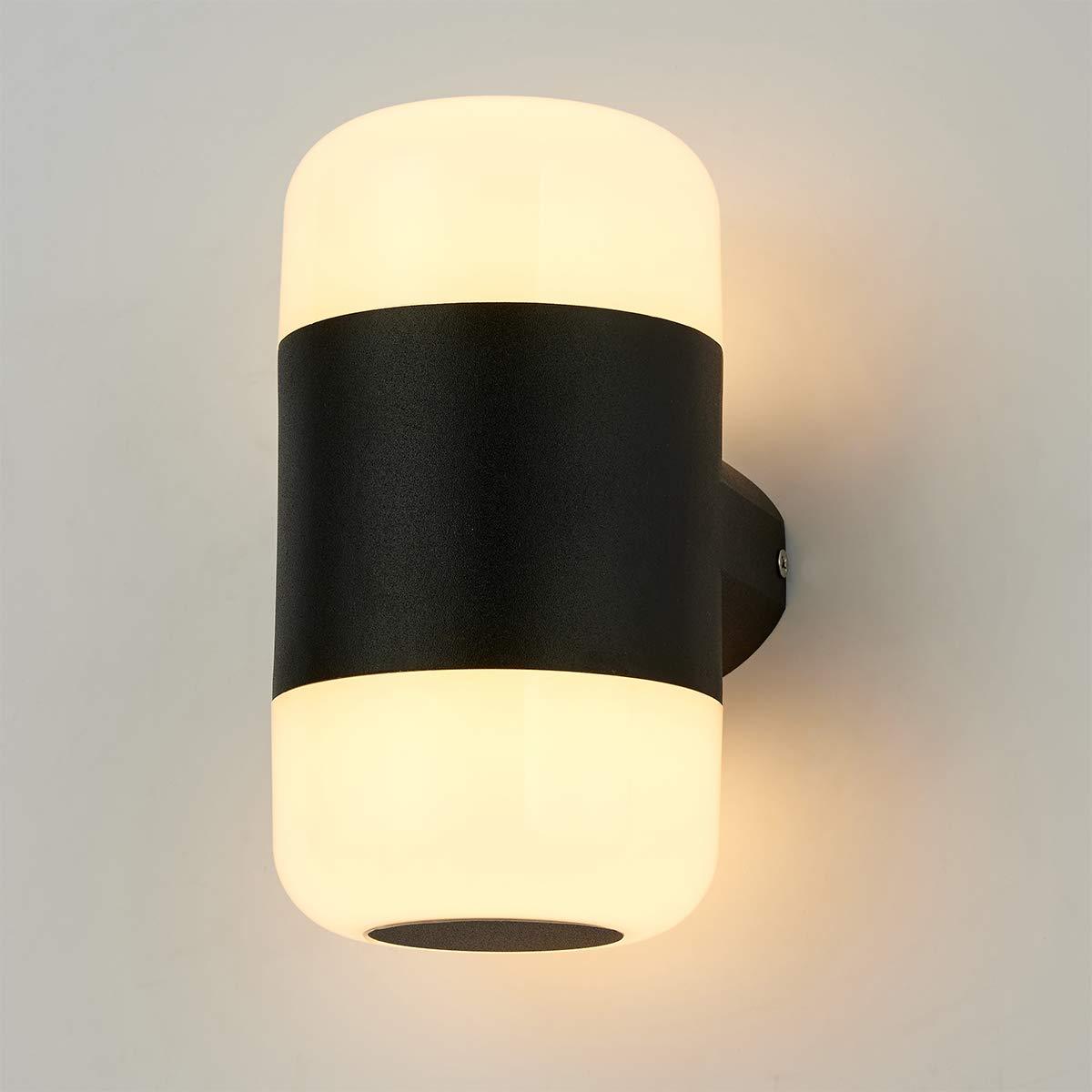 Blanco C/álido Glighone Apliques de Pared LED 12W L/ámpara Moderna Luz de Aluminio Luz en Moda Iluminaci/ón Interior para Decoraci/ón del Hogar Decoraci/ón de Casa