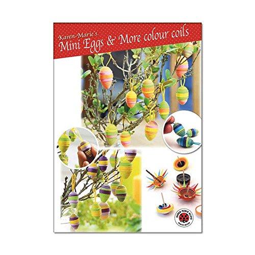 Karen Marie Klip Quilling Instruction Mini Eggs /& More colour Coils