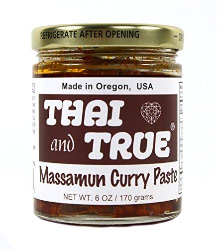 Thai and True Curry Paste - Massamun
