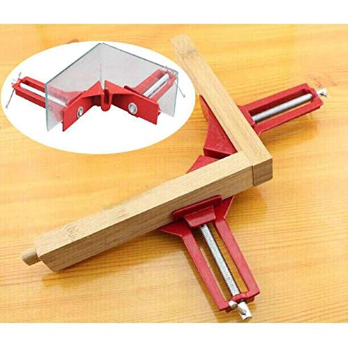 Clamps - Multifunction 4inch 90 Degree Right Angle Clip Picture Frame Corner Clamp 100mm Mitre Clamps Holder - Odontología Tires Video Pliers Cast Sheets Package Tools Handgun Wheels