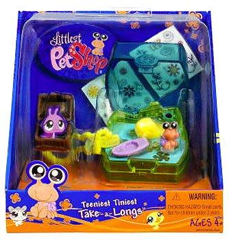 Littlest Pet Shop Teeniest Tiniest Take-A-Longs Mini Figure Crab