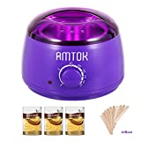 Wax Warmer,Hair Removal Waxing Kit,Home DIY Waxing Kit,Electric Pot Heater Melts Hot Beads Minutes, Painless Wax of Legs, Face, Body, Bikini