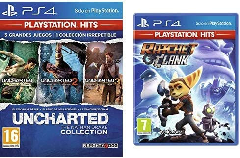 Uncharted Collection Hits - Versión 17 & Ratchet And Clank Hits ...
