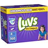 Health & Personal Care : Luvs Diapers sz 4, 160 ct