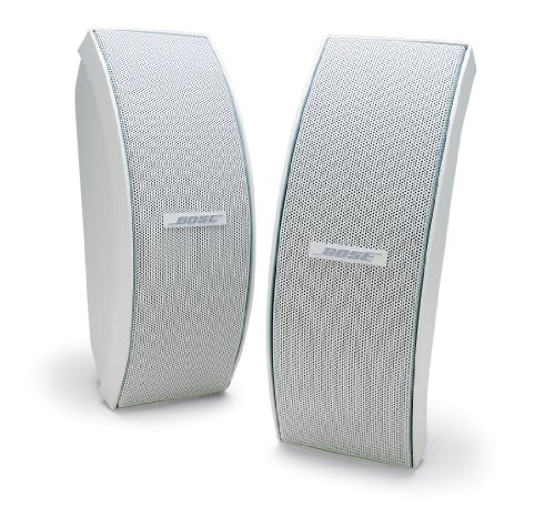 Bose 151 SE Elegant Outdoor Speakers (White) (Weatherproof Outdoor Speakers)