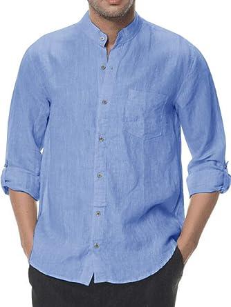 Men/'s Button Down Shirts Long Sleeve Regular Fit Shirts for Men