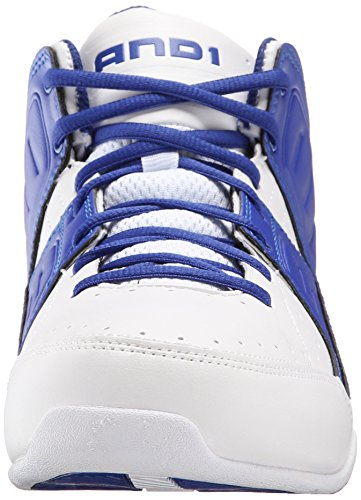 Images of AND 1 Men's Rocket 4.0 Basketball Shoe black 9 M US