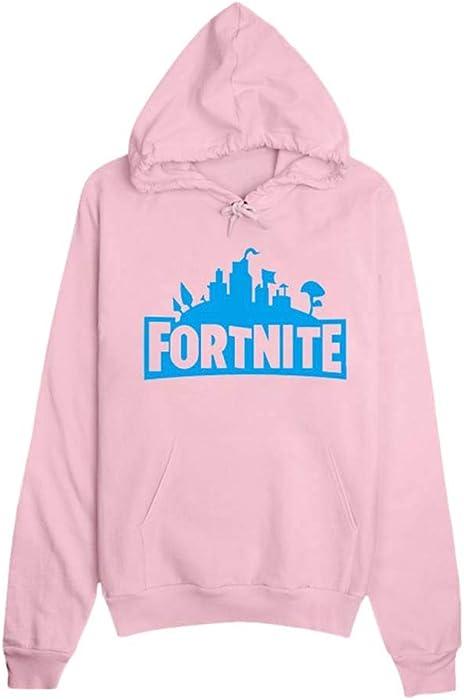 Mchooded Unisex Hooded Classic Game Fortnite Sweatshirt, Camiseta De Impresión, Patrón De Juego De Color, Sudaderas con Capucha para Niñas Y Niños