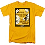 Always Sunny In Philadelphia- Sunny Quotes T-Shirt Size XXL