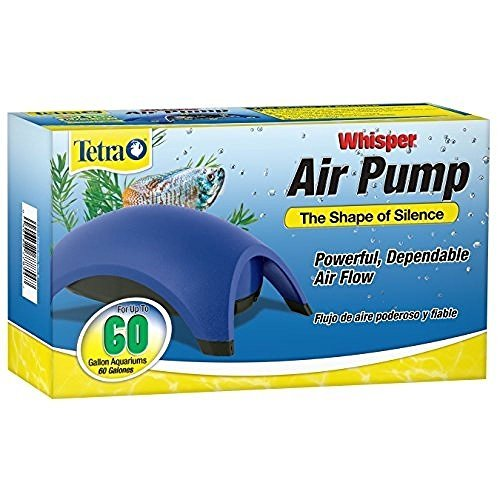 Tetra Whisper Air Pump, 60-Gallon,Efficient and easy to use, New (Air Tetra Pumps)