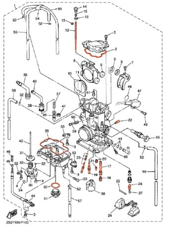 ktm carb diagram