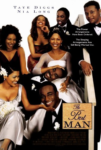 The Best Man Movie Poster (27 x 40 Inches - 69cm x 102cm) (1999) Style B -(Taye Diggs)(Monica Calhoun)(Morris Chestnut)(Nia Long)(Melissa DeSousa)(Harold Perrineau Jr.)
