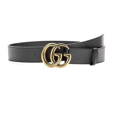 the best attitude b2c53 9b812 Amazon   (グッチ) Gucci レディース ベルト Leather belt [並行 ...
