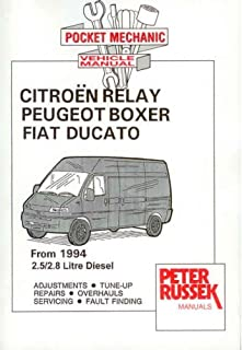 citroen relay peugeot boxer fiat ducato 1 9d from 2000 1 9 and rh amazon co uk