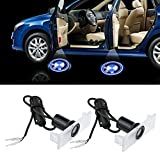 Fortitude Pack of 2 New Design BMW Logo Door Light Car Vehicle LED Courtesy Welcome Logo Light Shadow Ghost LED Light Lamp Projector Light