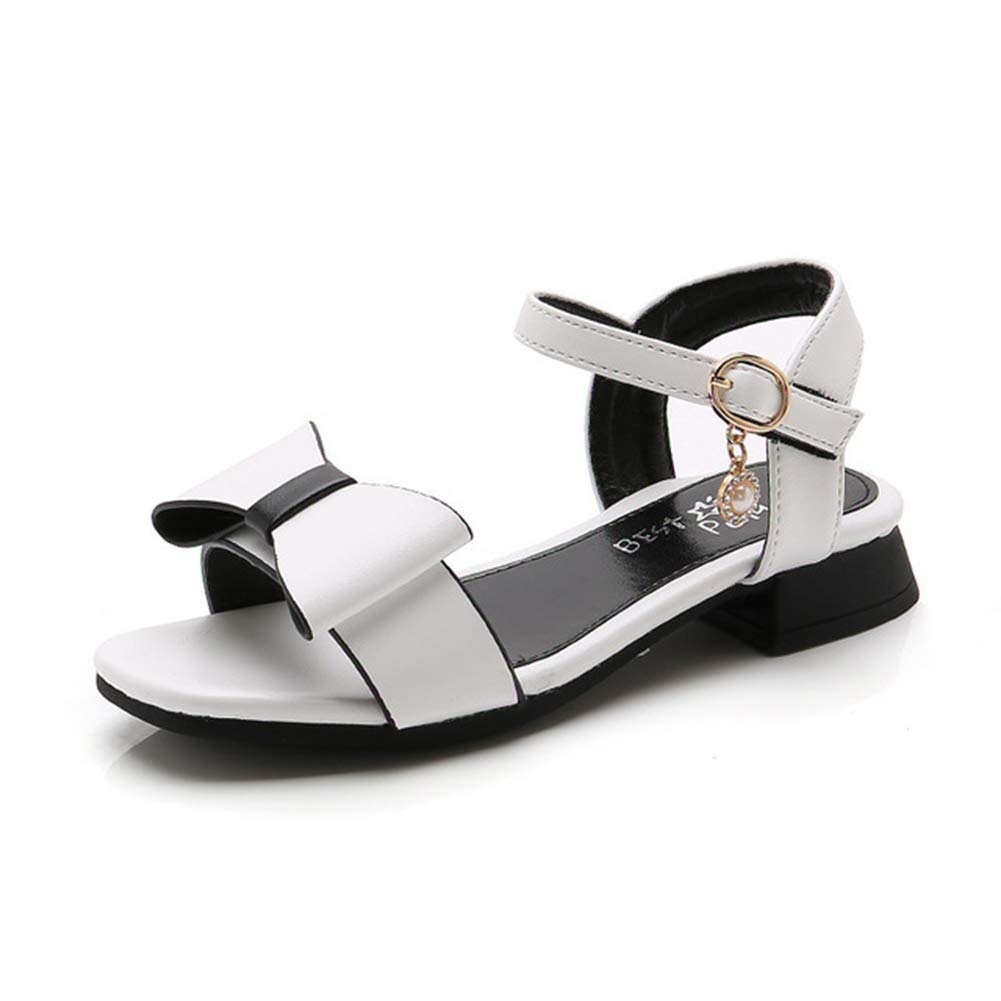 Navoku Cute Bowknot Leather Sandles Fashion Sandals for Girls