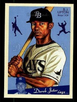 56d6e2ae 2008 Upper Deck Goudey # 176 B.J. Upton Tampa Bay Rays (Baseball Card)  Dean's