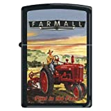 Zippo Custom Lighter - Farmall First in the Field Logo RARE!