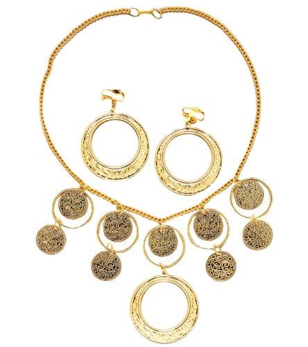 Gypsy Necklace Set (Standard) (Gypsy Costumes Girls)